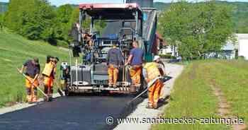 Straßenarbeiten in Ottweiler - Saarbrücker Zeitung