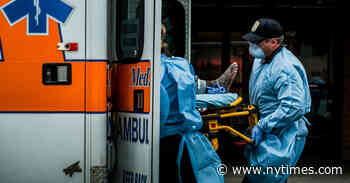 Paramedics, Strained in the Hot Zone, Pull Back From CPR