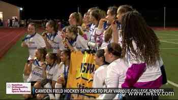 Camden trio to pursue athletic careers in field hockey, softball in college - WKTV