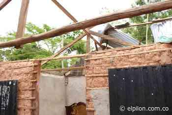 Vendaval dejó 160 damnificados en zona rural de Curumaní - ElPilón.com.co