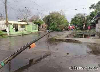 Daños en Paso del Macho tras paso de intensa tormenta - La Silla Rota