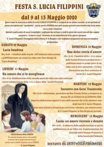Istituto Sacro Cuore, si festeggia (con le nuove tecnologie) Santa Lucia Filippini - da Bitonto