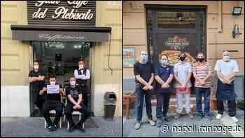 Crisi Coronavirus, i commercianti di Santa Lucia protestano con mani legate: stop tasse - Napoli Fanpage.it