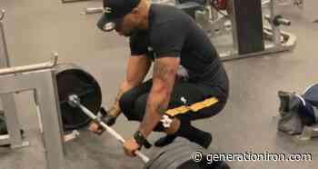 Watch Legendary Rapper and Tical Athletics' Method Man Deadlift 435 lbs (197 kg) - generationiron.com
