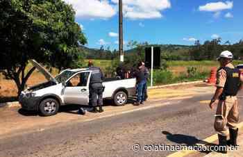 Casal é detido por tráfico de drogas na divisa de Baixo Guandu e Aimorés-MG - Colatina em Ação