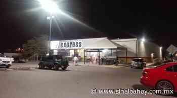 Armados saquean cajero automático en Guamuchil - Sinaloahoy