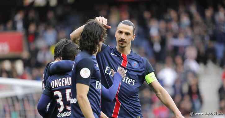 Zlatan Ibrahimovic hasste angeblich Edinson Cavain bei Paris Saint-Germain - SPORT1