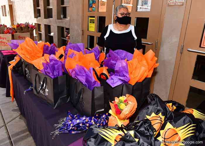 Phoenix Suns Charities Help Keep Mother's Day Tradition Alive at Chicanos Por La Causa Colores Shelter