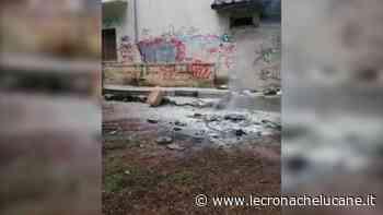 POLICORO: INCENDIO IN VILLA - Cronache TV