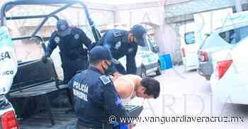 Taxista borracho cae en filtro sanitario de Tantoyuca - Vanguardia de Veracruz