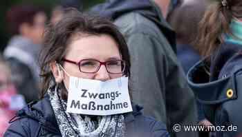 Corona-Protest: Polizei lässt in Bad Saarow sechs Demos gleichzeitig zu - Märkische Onlinezeitung