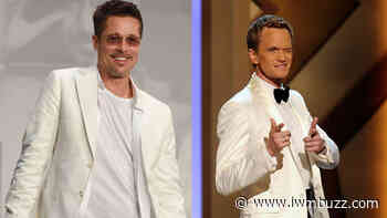 Brad Pitt And Neil Patrick Harris Showed How To Rock An All-White Look - IWMBuzz
