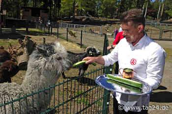 Limbach-Oberfrohna: Was macht ein Barkeeper im Tierpark? - TAG24