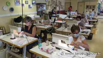 L'atelier de coupe et couture de Wattrelos, un service municipal qui tombe à pic - La Voix du Nord