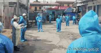 Cartera de Salud establece cordón sanitario en Colonia Monte Carmelo II en San Juan Sac. - radiotgw.gob.gt