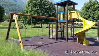 Valmadrera sistema i parchi gioco in attesa della riapertura ai bimbi - Lecco Notizie
