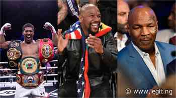 Anthony Joshua pays tributes to legendary Mike Tyson and Floyd Mayweather - Latest News in Nigeria & Breaking Naija News 24/7 | LEGIT.NG