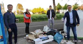 App soll in Bad Oeynhausen helfen, Vermüllung und Straßenschäden zu melden - Neue Westfälische