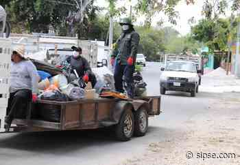 Bacalar | Retiran 40 toneladas de cacharros de viviendas de Bacalar - sipse.com