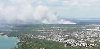 Controlan 45% del incendio 'Ichkabal', en Bacalar Estados - - Luces del Siglo