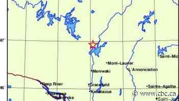Earthquake shakes Maniwaki, Que., area - CBC.ca