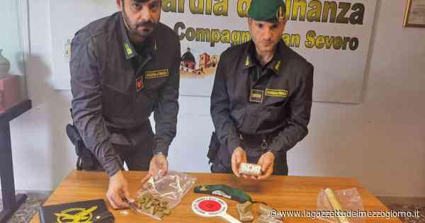San Severo, in casa 700 grammi di hashish e contanti: un arresto e una denuncia - La Gazzetta del Mezzogiorno