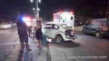 Dos lesionados tras choque de moto en Puerto Escondido - NVI Noticias
