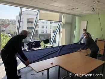 Masques à Villeneuve-le-Roi: quand la ville se transforme en atelier de couture - 94 Citoyens