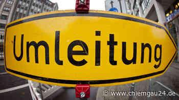 Straße am Hochberg voll gesperrt - chiemgau24.de