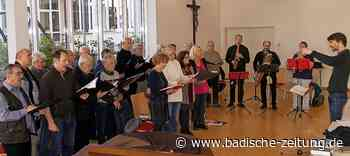 Adventskonzert der Sängerrunde Hochberg mit Gästen in Emmendingen - Emmendingen - Badische Zeitung - Badische Zeitung