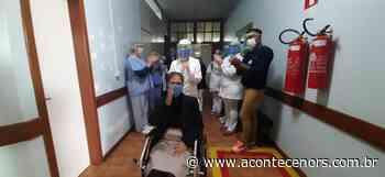 Paciente com Covid-19 internada no Hospital de Espumoso tem alta e recebe homenagem - Acontece no RS