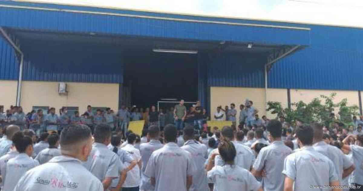 Itapetinga: SDE garante que manteve incentivos para fábrica de calçados - Bahia Noticias - Samuel Celestino