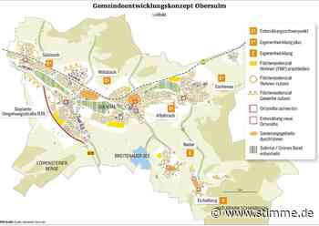 Obersulm hat ein Arbeitspapier und ein Leitbild für die Jahre bis 2035 - STIMME.de - Heilbronner Stimme
