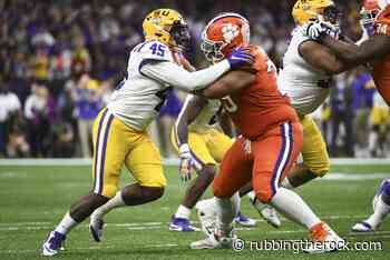 Clemson Football: Jackson Carman could be best OT in the nation - Rubbing the Rock
