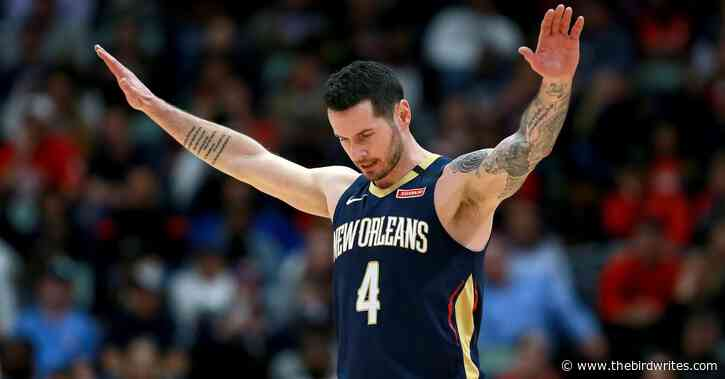 JJ Redick says he's in decent cardiovascular shape — and recalls time of possibly getting frozen out by Carmelo Anthony in high school