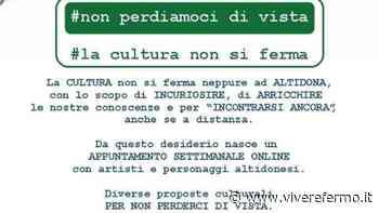 """Altidona:grande successo per l'iniziativa """"La cultura non si ferma"""" - Vivere Fermo"""