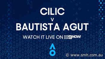 Marin Cilic v Roberto Bautista Agut: AO Highlights - The Sydney Morning Herald