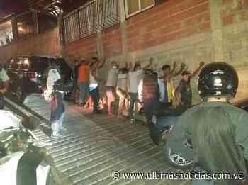 Detienen a «parranderos» en Catia La Mar - Últimas Noticias
