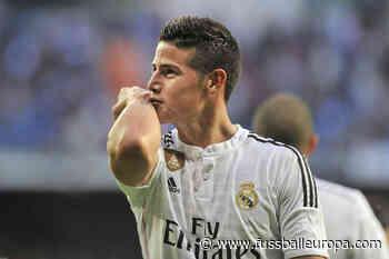 Real Madrid legt Preis für James Rodriguez fest - Fussball Europa