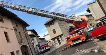Canna fumaria in fiamme a Goricizza di Codroipo - Il Friuli