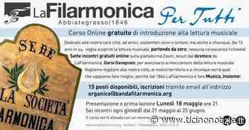 Abbiategrasso, dalla Filarmonica un corso on line (gratuito) di introduzione alla musica - Ticino Notizie