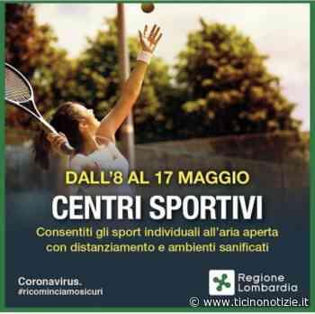 Abbiategrasso: al via le attività sportive individuali all'aria aperta - Ticino Notizie