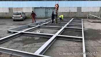 Les chantiers de pose reprennent chez CTMS à Avesnes-sur-Helpe - La Voix du Nord