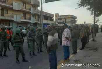 #FOTOS Palacios: Militarizan Carora para evitar protestas por mal funcionamiento de los servicios públicos - El Impulso