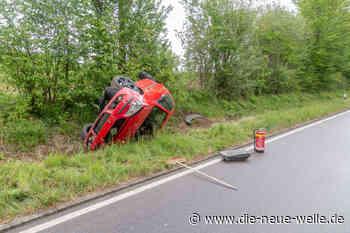 Wildtier-Unfall bei Walzbachtal: Pkw überschlägt sich - die neue welle - die neue welle
