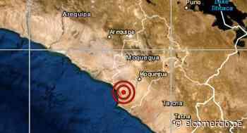 Moquegua: sismo de magnitud 3,9 se reportó en Ilo, señaló el IGP - El Comercio Perú
