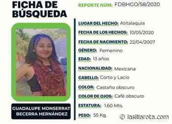 SE BUSCA   Guadalupe Monserrat desapareció en Atitalaquia - lasillarota.com