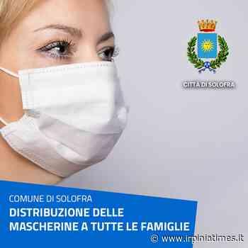 Solofra, continua la distribuzione delle mascherine per tutte le famiglie - https://www.irpiniatimes.it