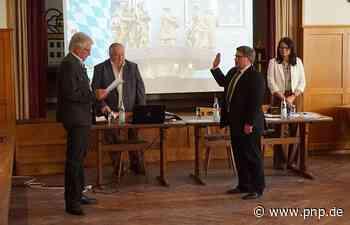 Bürgermeister Wolfgang Schmid legt Amtseid ab - Tann - Passauer Neue Presse