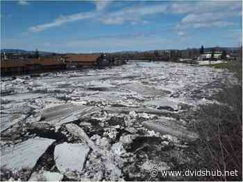 Ice Jams Trigger Operation of the Moose Creek Dam on Chena River - DVIDS